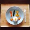 ハーフバースデーやってみた 6ヶ月誕生日の離乳食ケーキ