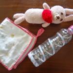 赤ちゃんの手作りおもちゃ・スタイなど