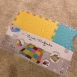 LUDIのプレイマットがおしゃれで可愛い。赤ちゃんが寝返りしたら買うべし