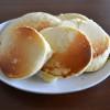 手づかみ離乳食:手作りホットケーキミックスでパンケーキ