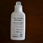 THE洗濯洗剤の使用感。洗浄力もあり、自然に優しくてボトルデザインもシンプルで◎