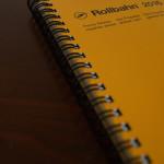 Rollbahn(ロルバーン)ダイアリーを、2016スケジュール帳に