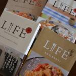飯島奈美さんの料理本「LIFE」改めてレシピが丁寧で美味しくなります