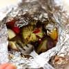 BBQ離乳食:お野菜のホイル焼きならアウトドアごはんで離乳食ができるのです