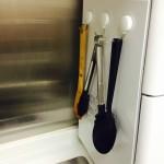 キッチン収納:1軍の調理器具の置き場所