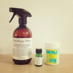 キッチンスプレー調合:クエン酸と、スウィートオレンジの精油