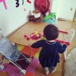 シンプルなこどものおもちゃ。1歳3ヶ月頃におすすめ、レゴデュプロのアイディアボックス