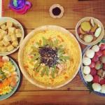 遅くなりましたが、ひなまつりのお祝いと手まり寿司のすすめ