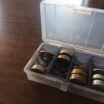自宅の小銭保管の便利なケース