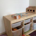 IKEAトロファスト収納&キッズプレイテーブルを導入。